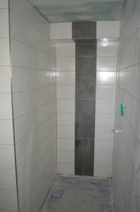 Begehbare Dusche im Bad