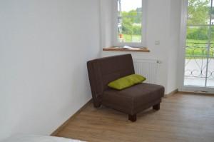 Schlafzimmer 2 - mögliche Schlafcouch oder einfach ein Plätzchen zum Ausruhen