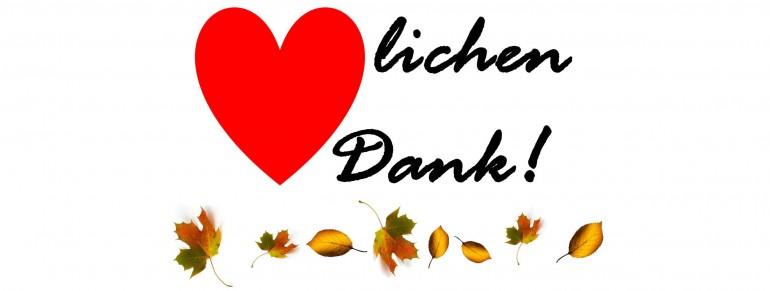 Herbstanfang – Zeit um Danke zu sagen…