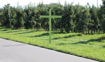 Was hat es mit den grünen Kreuzen auf sich?