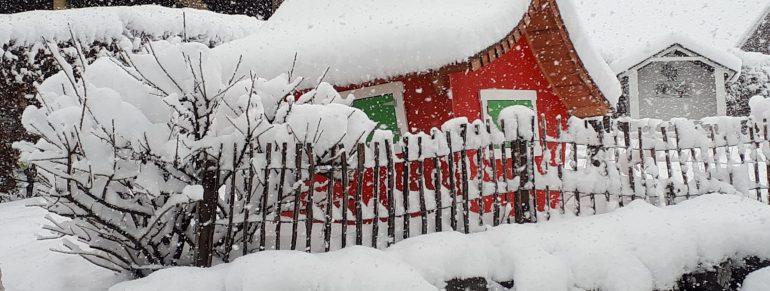 Herrlichstes Winterwetter!
